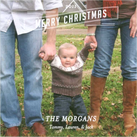 Christmas Card 2011 Morgans