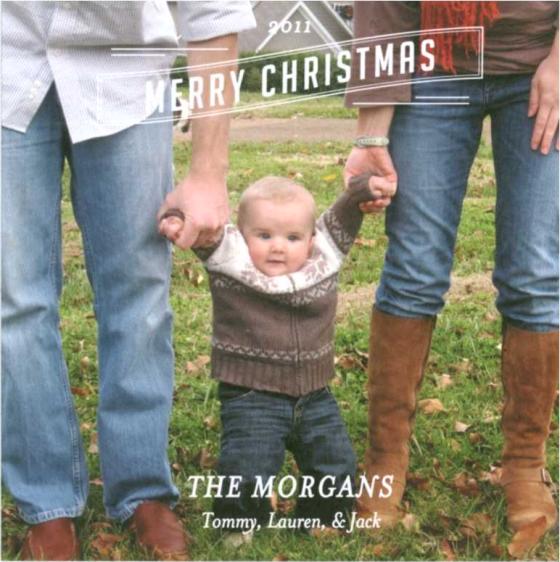 Christmas Card 2011 Morgans
