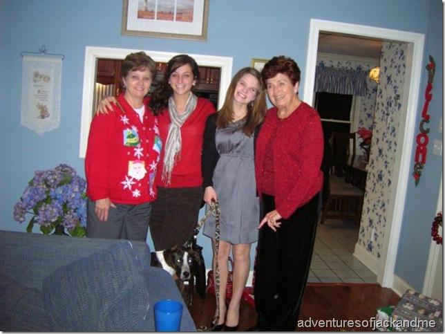 Granny Christmas time