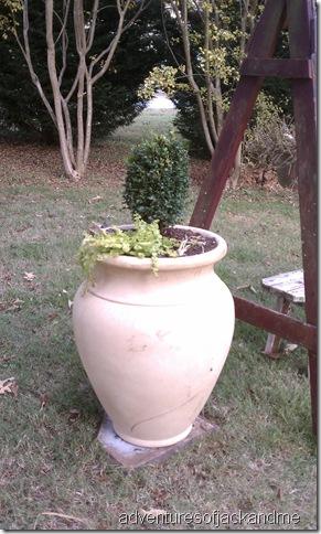 memorial planter