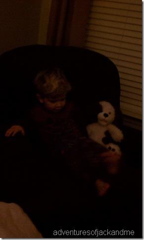 Jack and Gabriel bear