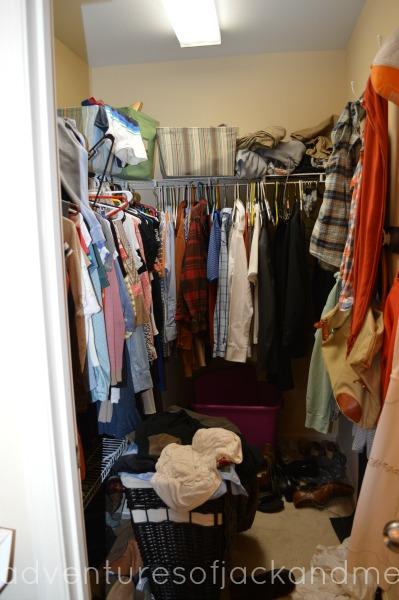 Closet Before Full Picture ...