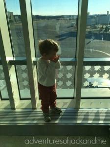 Jack at airport