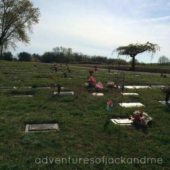 G's grave 11 months