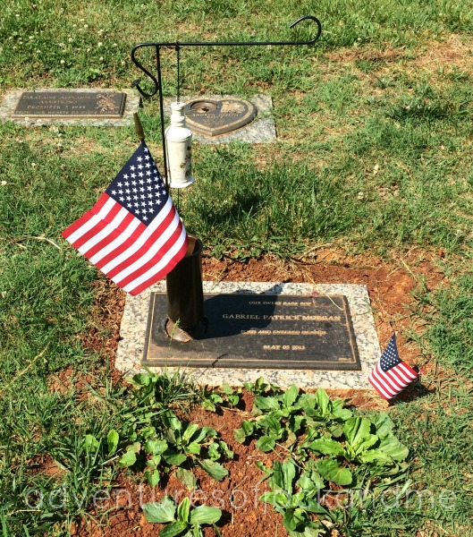 memorial day G's grave 2014